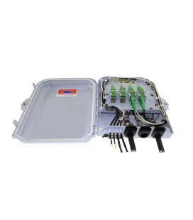Caja FTTh distribucion 8p pared/poste
